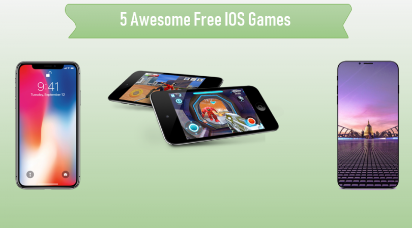 5 Best Free IOS Games For IPhone And IPad - Genial Code